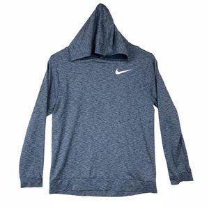 Nike Women's Dry-Fit Gray Pullover Hoodie Size XL